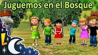 Juguemos en el bosque canciones y rondas infantiles   Videos Educativos para Niños #