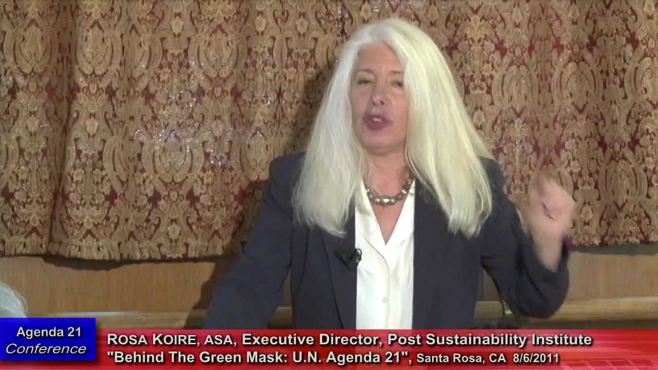 Rosa Koire, Behind The Green Mask, UN Agenda 21, :25:12 ...