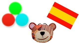 Farben lernen für Kinder und Kleinkinder im Spanisch