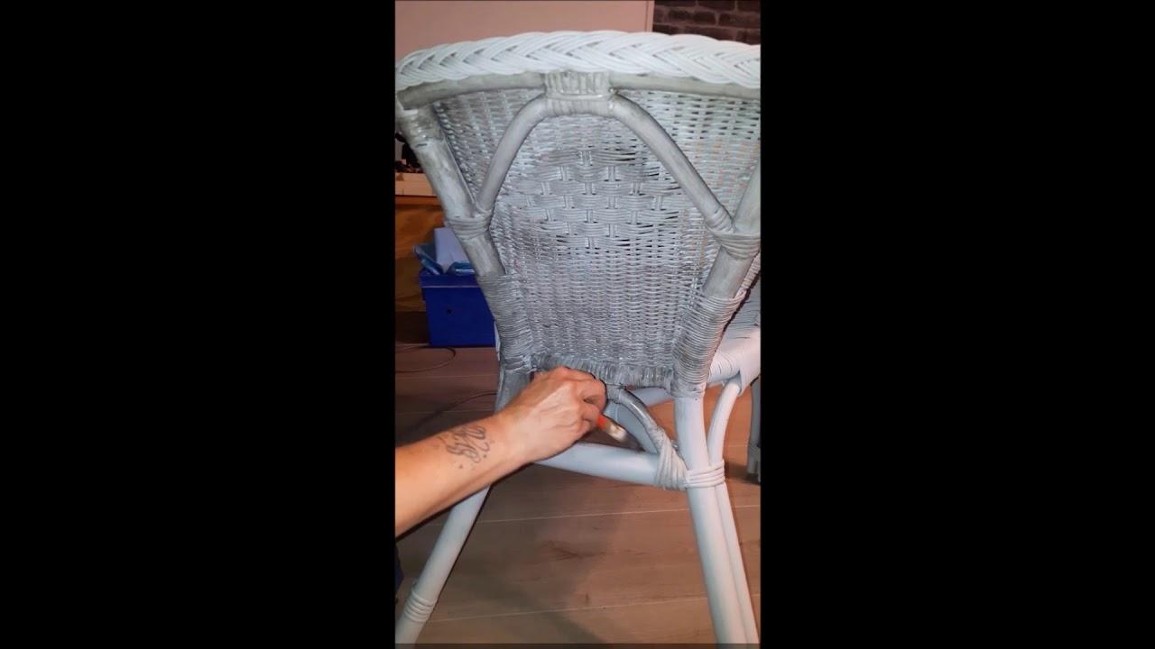 Comment Repeindre Des Fauteuils En Rotin relooking fauteuil en rotin
