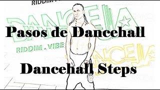 Pasos de Dancehall Gun shot salut, Russian bounce & Clean my shoes