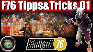 Fallout 76 Tips aฑd Tricks (German, with subtitles) - 7 Tips for Beginners & Advanced