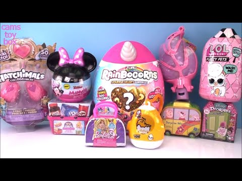 LOL Fuzzy PETS WAVE 2 Random Surprises Unboxing TOYS RianBoCorns Peppa PIG Minnie