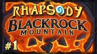 Hearthstone Blackrock Mountain: Normal Mode | Blackrock Depths - Episode 1