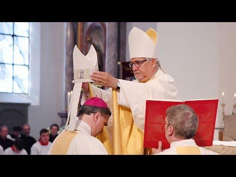 Dokumentation: Bischofsweihe von Matthäus Karrer am 28. Mai 2017