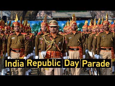Live: India Republic Day Parade 印度举行共和日阅兵游行
