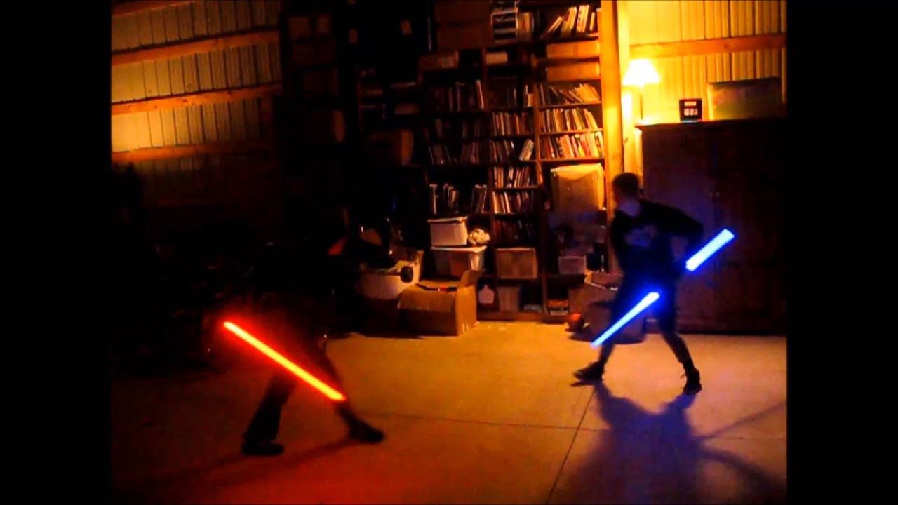 how to make a double bladed lightsaber