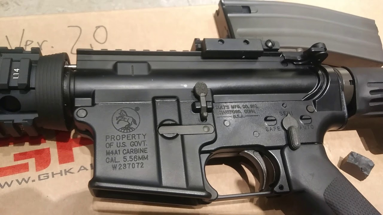 CRW (FB被Block至1月)Ghk Colt M4 Version2 2017