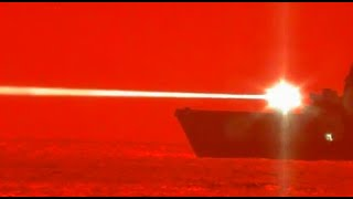 USS Portland Fires Laser Weapon, Downs Drone in First At-Sea Test!