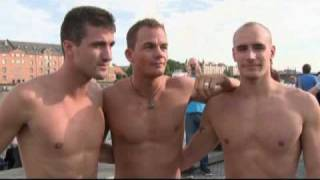 World Outgames 2009: France Synchronized Swimmers