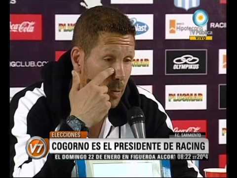 Visión Siete: Eleecciones En Avellaneda: Los Nuevos Presidentes De Racing E Independiente