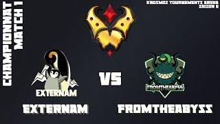 Gold League Championship #3 - Externam vs FromTheAbyss - Match 1