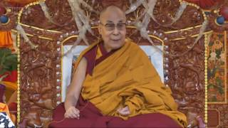 Далай-лама. Учения по «Восьми строфам о преобразовании ума» и «37 практикам бодхисаттвы» в Манали