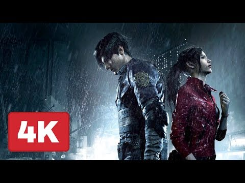 Resident Evil 2 Remake Gameplay In 4K On Xbox One - Gamescom 2018