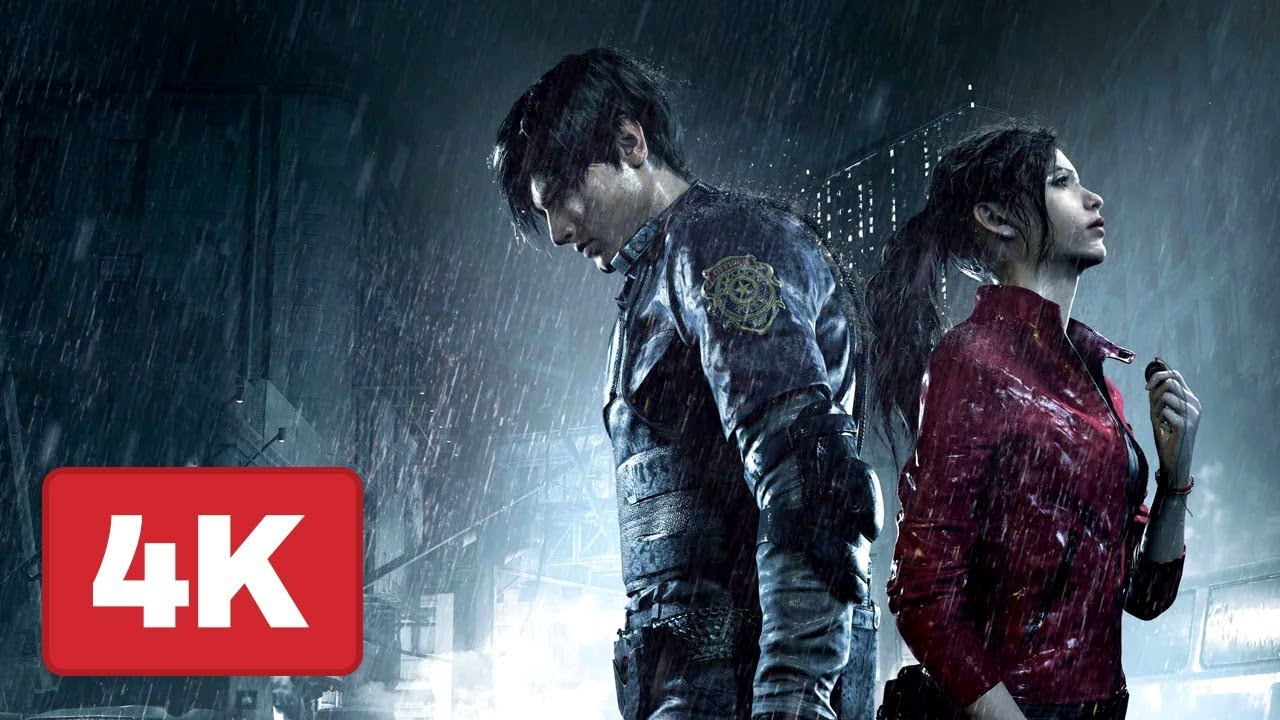 Resident Evil 2 Remake Gameplay In 4k On Xbox One Gamescom 2018