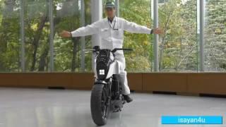 فيديو  لا تسقط أبدًا.. دراجة نارية ذاتية التوازن من «هوندا»
