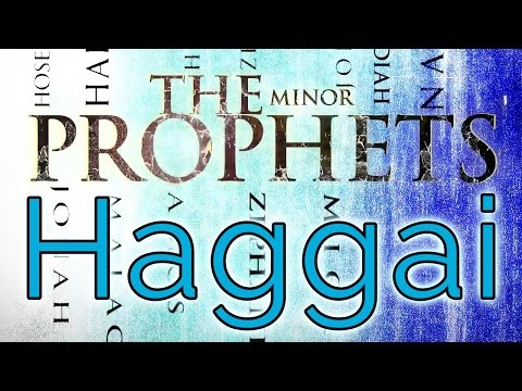 Minor Prophets  Haggai