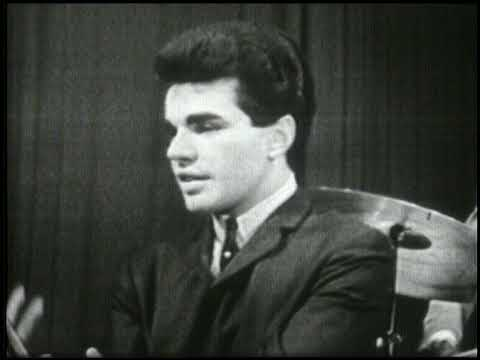 American Bandstand 1962- Interview Joey Dee and the Starliters