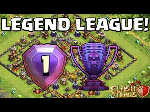 LEGEND LEAGUE GAMEPLAY! || CLASH OF CLANS || Let's Play CoC [Deutsch/German HD+]