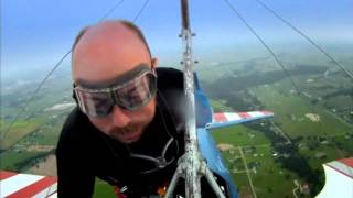 Karl Pilkington - Mr Leather man and wing flying
