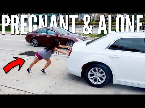 PREGNANT AND ALONE WITH A BROKEN CAR!!! (NO ONE WANTED TO HELP)