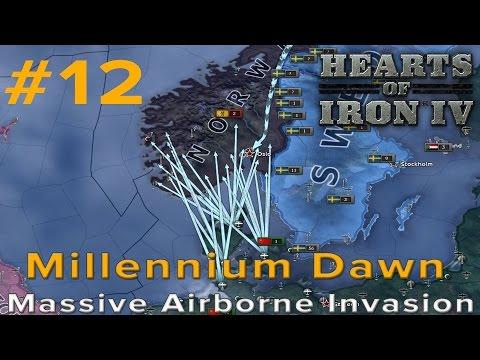 Hearts of Iron 4: Millennium Dawn - Massive Airborne Invasion!!