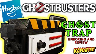 HASBRO GHOSTBUSTERS GHOST TRAP UNBOXING AND REVIEW