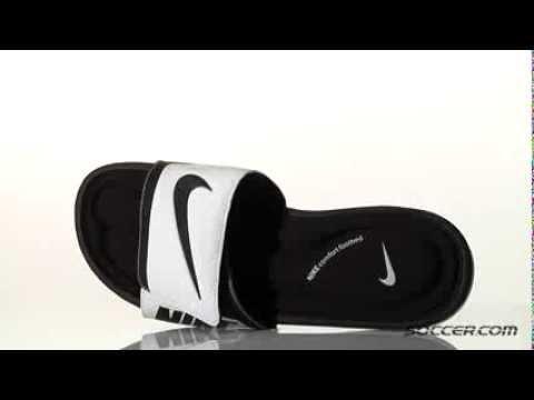 c44f0a121bde Nike Solarsoft Comfort Slide Sandals 72285 - YouTube
