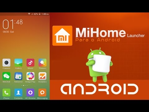 MiHome Launcher - MIUI Launcher para Android