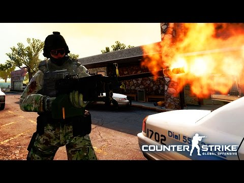 Counter Strike GLOBAL OFFENSIVE - CS:GO First Encounter - Counter Strike GamePlay HD