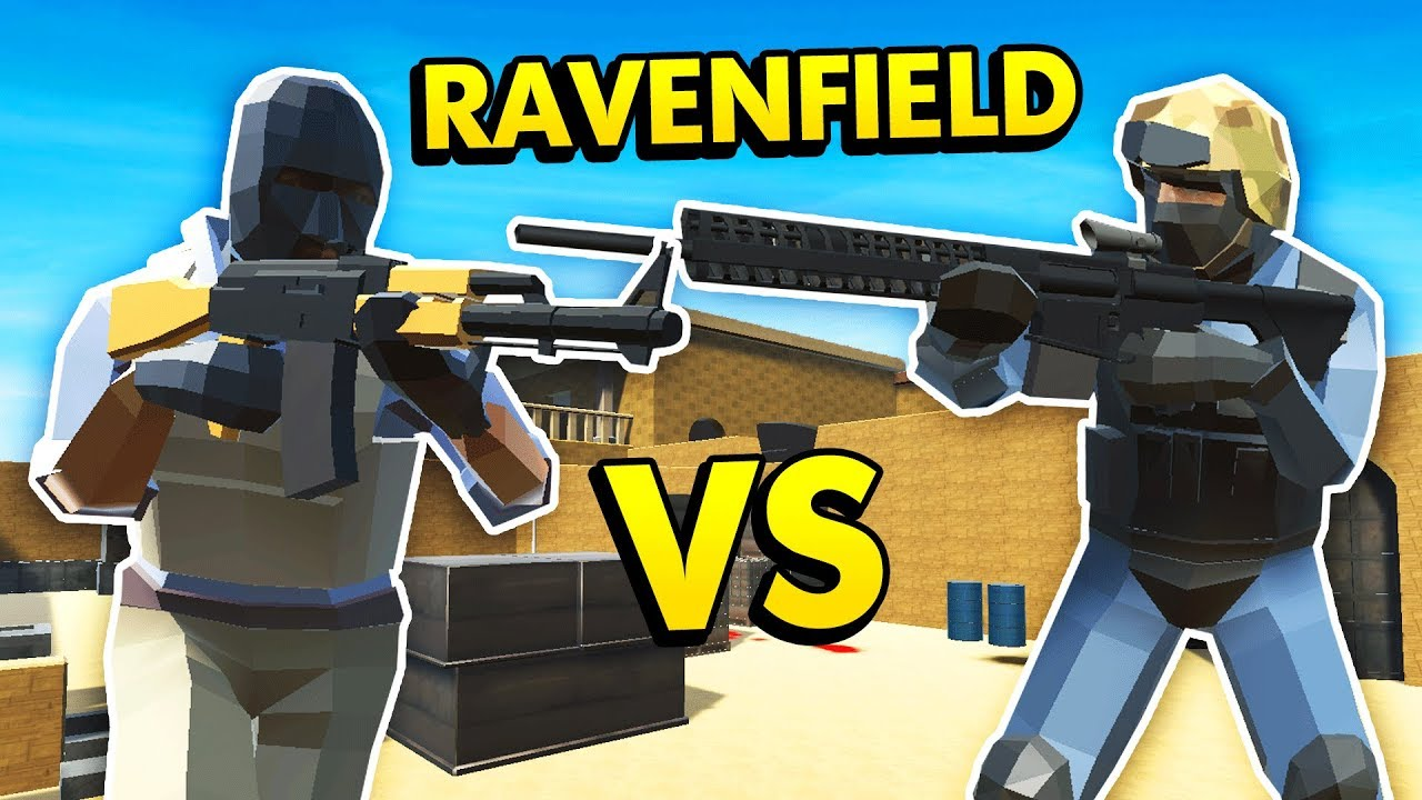 COUNTER STRIKE MOD IN RAVENFIELD! (Ravenfield Funny Gameplay)
