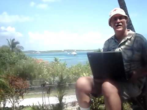 On my deck in Abaco Island Bahamas listening to live365 internet radio 24/7