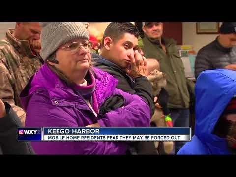 Keego Harbor mobile home tenants fear new development proposal