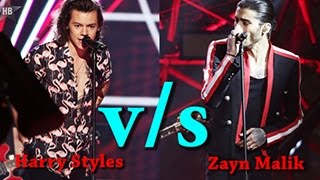 Harry Styles vs Zayn Malik