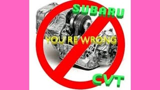 Why You Are WRONG about the CVT