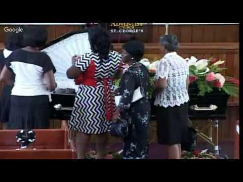 Funeral Of Brother Greg Morgan