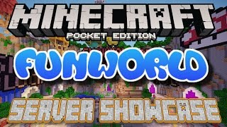 FunWorld Minigames Server - Minecraft Pocket Edition