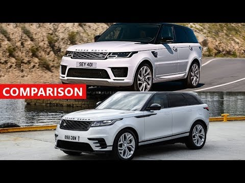 2018 Range Rover Sport Vs Velar Comparison True Luxury Suvs