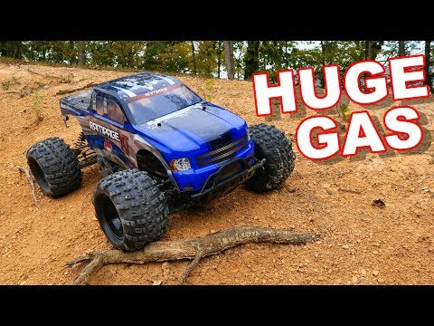 HUGE Gas RC Monster Truck 1/5 Scale Giant - Redcat Racing Ra