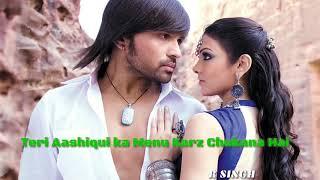 Teri aashiqui ka menu karz Chukana hai  Dil Da Jahan teri rahon mein lut aana hai