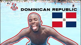 TRAVEL VLOG: DOMINICAN REPUBLIC, PUNTA CANA!! // CAN BLACK PEOPLE REALLY SWIM?