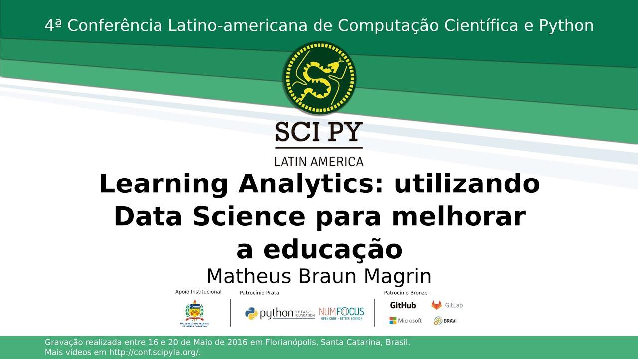 Image from Learning Analytics: utilizando Data Science para melhorar a educação