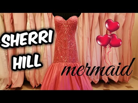dress-no.27- -sherri-hill-50136-mermaid-dress- -long-satin-evening-dress- -احلى-فستان-سمكه-شيري-هيل