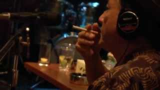 "Recording of Kazuki Tomokawa's album ""Vengeance Bourbon"" 2013.10.11..."