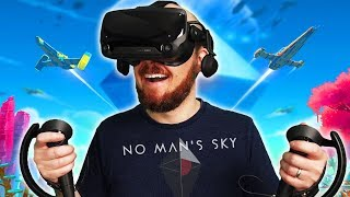 No Man's Sky Beyond In Virtual Reality On Valve Index
