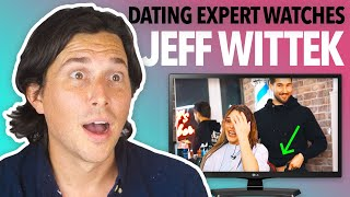 Dating Expert Reacts to JEFF'S BARBERSHOP | Jeff Wittek and Lele Pons