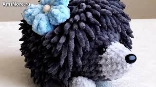Амигуруми: схема Ёжик. Игрушки вязаные крючком - Free crochet patterns.