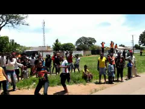 Celebrating in Lusaka