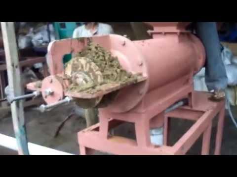 Cow Dung Dewatering Machine