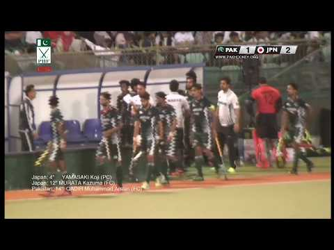 2nd Half Japan vs Pakistan Final Match 2018 OMAN TRIANGULAR